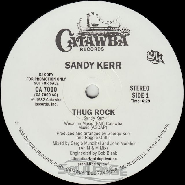 Sandy Kerr Thug Rock